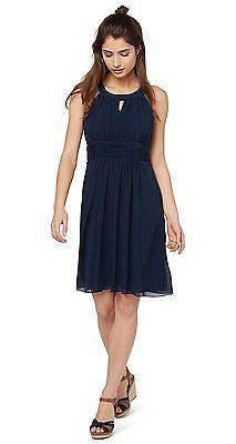 20, Navy, Tom Tailor Women's Kleid Elegant Event Dress/603 Dress NEW