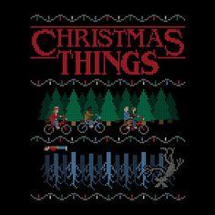 Stranger Things Christmas Things T-Shirt