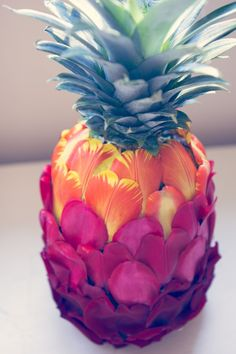 Flowers as Food: The Pineapple Edition