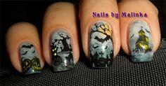 Halloween - Nails by Malinka