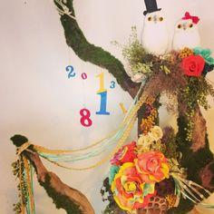 fun reception tree for wedding ....welcome tree | 密林東京
