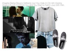 """""""Imagine Being Steve's Girlfriend, but You Walk In On Him Kissing Sharon. Bucky Comforts You and You Start to Fall In Love With Him"""" by xdr-bieberx ❤ liked on Polyvore featuring moda, GANT, Sebastian Professional, Cynthia Rowley, Marc by Marc Jacobs, American Apparel, Topshop, FingerPrint Jewellry, Keds e Olivia Burton"""