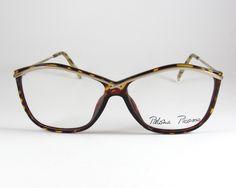 Paloma Picasso Mod:3721, Vintage 80s Women's Cat Eye Eyeglasses Frames, Vintage Rare Paloma Picasso Designer Eyeglasses, NOS by KNVintageEyeglasses on Etsy