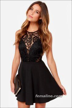 black elegant dresses
