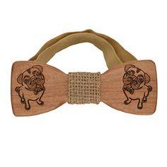 Wooden bow tie pug-dog - Sackcloth linen middle & strap B... https://www.amazon.com/dp/B01DBYTHUA/ref=cm_sw_r_pi_dp_x_rNGKybYH8P1VQ