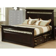 designs king size bed frame with storage for small bedroom