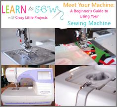 Meet Your Machine: A Beginner's Guide to Understanding Your Sewing Machine