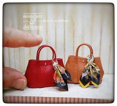 2017, Miniature bags ♡ ♡ By My dollhouse #miniaturebag #miniarurehandbag #minibag