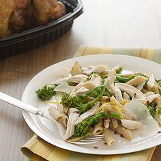 Penne With Chicken and Preserved Lemon #dinner | health.com