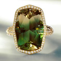 @katflorence. Kat Florence Oregon Sunstone and Flawless Diamond ring - Exquisite natural beauty.