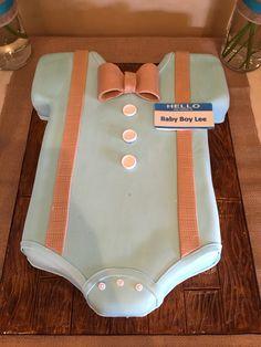 Baby shower for baby boy