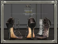 Dear sexy models,     {{BSD Design studio}} have the new releases sexy cara comes with both with feet or with high feet version -  10 colours  50% of just for the 1st week PROMO l    Landmark :     http://maps.secondlife.com/secondlife/Kourinbou/157/41/23
