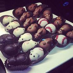 lusttforlifeblog:    Chocolate mice  (Taken with Instagram)