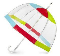 Totes Pear Bubble Umbrella (Crimson/BlueJay/Yellow/Pear) Totes. $28.98