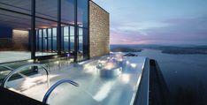 Новый отель в австрийских Альпах