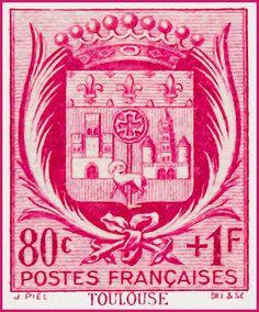 I uploaded new artwork to fineartamerica.com! - 'Toulouse Stamp' - http://fineartamerica.com/featured/toulouse-stamp-lanjee-chee.html via @fineartamerica