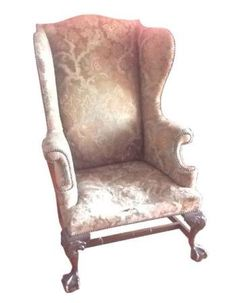 Antique 18 century wingback armchair  on Etsy, 900,00 €