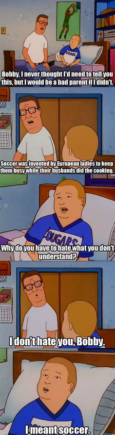 Hank Hill's Opinion On The World Cup