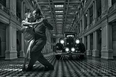 """""""Tango en el Pje. Rocha"""" de Hans W. Müller - Argentina - Abril/2016"""