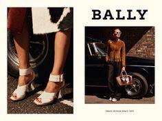 Fashion Copious - Edita Vilkeviciute & Clement Chabernaud for Bally SS 2016 Campaign by Alasdair McLellan Fashion Art, Editorial Fashion, Edita Vilkeviciute, Garance, Swiss Design, Ss 2017, Spring Summer 2016, Ss16, Campaign