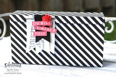 a cute box with the new Gift Box Punch Board - Kerstin Kreis