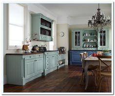inspiring painted cabinet colors ideas home and reviews here blogger who had her cabinets professionally love