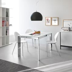 Baron Extendable Dining Table. Dining Tables. Dining : Calligaris. Modern furniture.