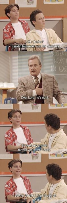 Boy meets world. Love this show so much!