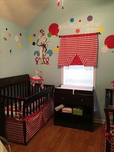Nursery set I made for my sister's twins.