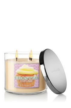 Frosted Cupcake candle from Bath and Body works.  I love this scent!