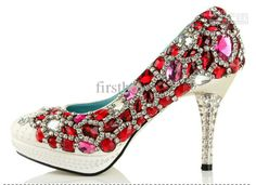 Red crystal shoes for you...