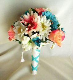 Wedding Ideas: Coral and Turquoise Wedding!