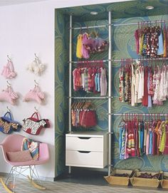 kids closet, from Susanna Salk's Room For Children