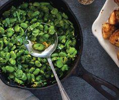 gourgane, persil, oignon vert et maïs (que j'ai rajouté) + sauge (au lieu du persil)
