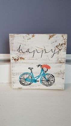 Hey, I found this really awesome Etsy listing at https://www.etsy.com/listing/269118846/vintage-hand-painted-bicycle-rustic