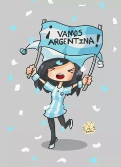 ¡Vamos Argentina! Gaucho, Argentina Football Team, Spanish Speaking Countries, How To Speak Spanish, Where The Heart Is, South America, Ideas Para, Smurfs, My Love