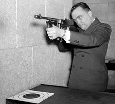 1938: J. Edgar Hoover being the man. | This Is What The FBI Looked Like In The '30s And'40s