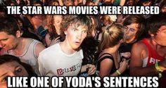 The Lighter Side of the Force: It's a conspiracy!