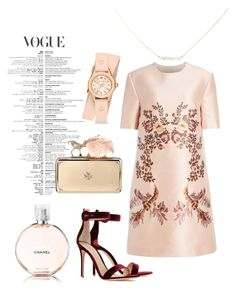 """""""Style Your Night"""" by sugarberry777 on Polyvore featuring STELLA McCARTNEY, Gianvito Rossi, Suzanne Kalan, Michele, Chanel and Alexander McQueen"""