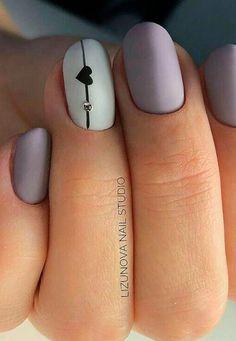 cute nail art designs for short nails 2019 page 1 Valentine's Day Nail Designs, Simple Nail Designs, Acrylic Nail Designs, Acrylic Gel, Summer Nail Designs, Gel Designs, Simple Nail Art Designs, Nail Design Glitter, Nails Design