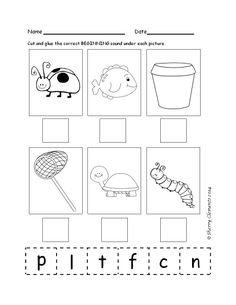 Beginning Sounds (May) Includes beginning consonant/vowel sounds, blends, and digraphs. $