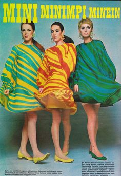Eevan muotikuvat vuodelta 1967