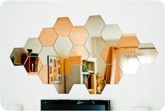 IKEA -- HÖNEFOSS Mirror Ikea Mirror, Mirror Wall Art, Industrial Mirrors, Tv Wall Decor, Mirror Panels, Living Room Mirrors, Geometric Wall Art, Luxury Homes Interior, Living Room Designs