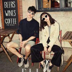 ELLE 2015 April . . #magazine #elle #april #윤승아 #김무열 #gentlemonster #sunglasses