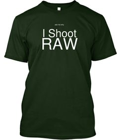 Ask me why I shoot RAW