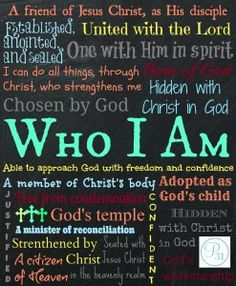 Enjoy FREE #WhoIAm printables on the Proverbs 31 Online Bible Study Blog today! http://proverbs31.org/online-bible-studies/2013/11/06/whoiam-made-in-gods-image/