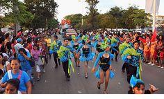 CARNAVAL 2016 EN LA ZONA NORTE DE Q. ROO, BAJO LLUVIA Y FRÍO