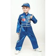 racer toddler costume by california costume collections 2900 includes racer jumpsuit hat flag award ribbon race cars track mat booklet v