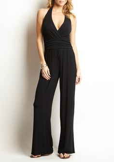 This is comfy and glammy.  Serena jumpsuit by Tart