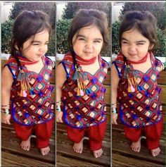 12 Things That Happen When You Are Expecting A Baby! Cute Girl Dresses, Little Girl Dresses, Girl Outfits, Baby Dresses, Kids Indian Wear, Kids Ethnic Wear, Cute Baby Girl Pictures, Cute Girls, Baby Frocks Designs